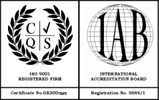 We are a CQS ISO9001 registered firm.